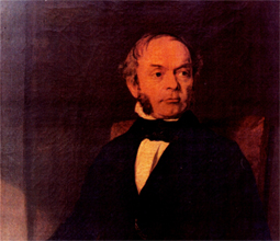 Painting of Samuel Wilderspin
