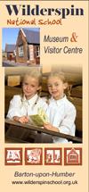 Wilderspin museum leaflet