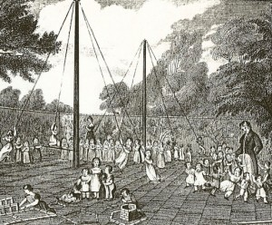 Wilderspin playground 1840
